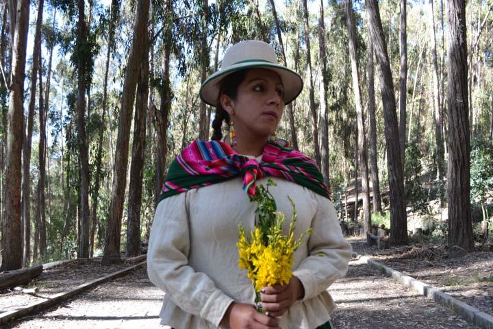 Brígida Ajata. Foto: Movimiento Maricas Bolivia