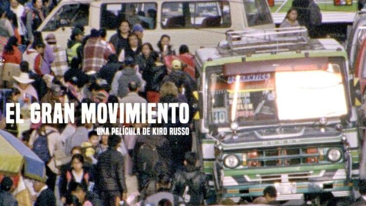Imagen promocional de 'El gran movimiento'. Foto: Difusión